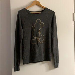 Dark grey Mickey Mouse sweater
